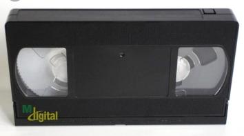Fita de vídeo cassete